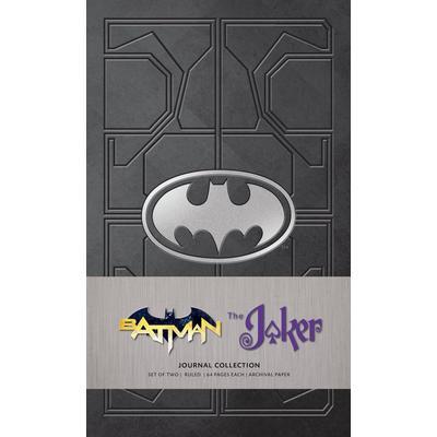 DC Comics: Batman and The Joker Journal 2 Pack