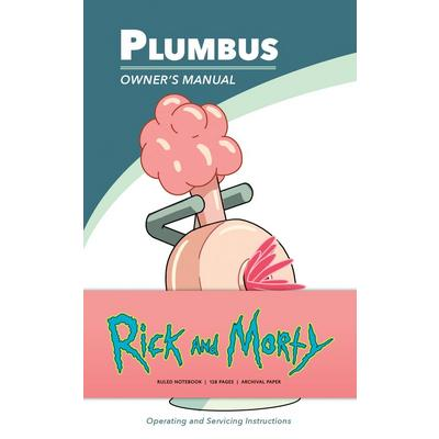 Rick and Morty: Plumbus Ruled Notebook