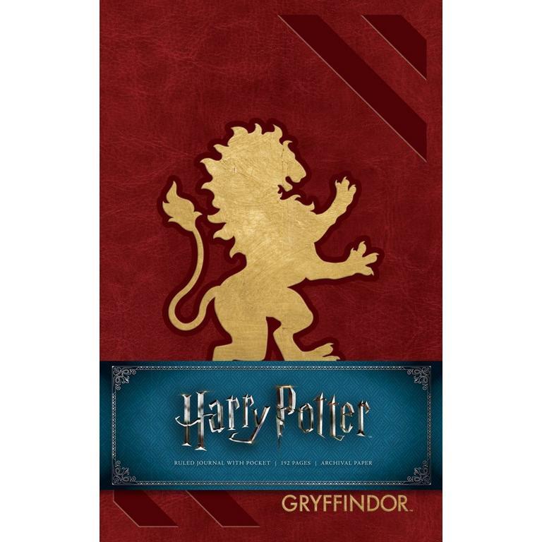 Harry Potter: Gryffindor Hardcover Ruled Journal