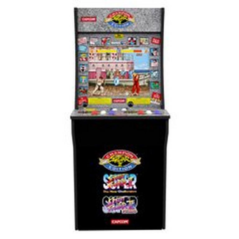 Street Fighter Arcade Cabinet
