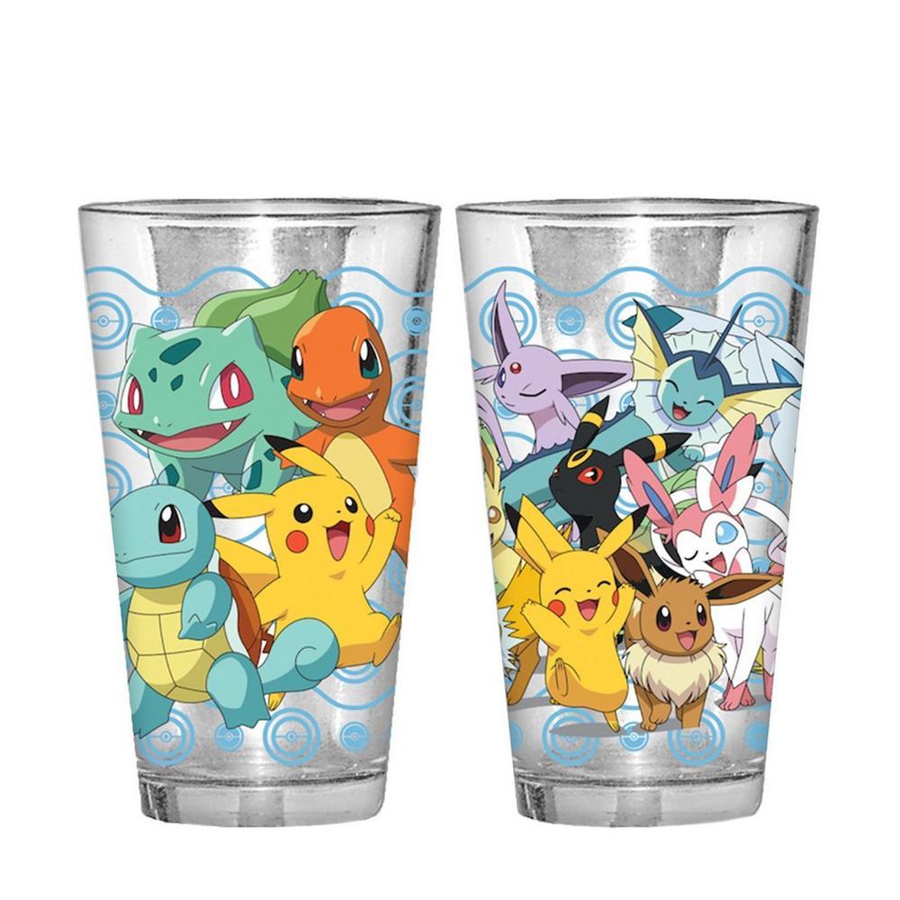 Pokemon Pint Glass 2 Pack