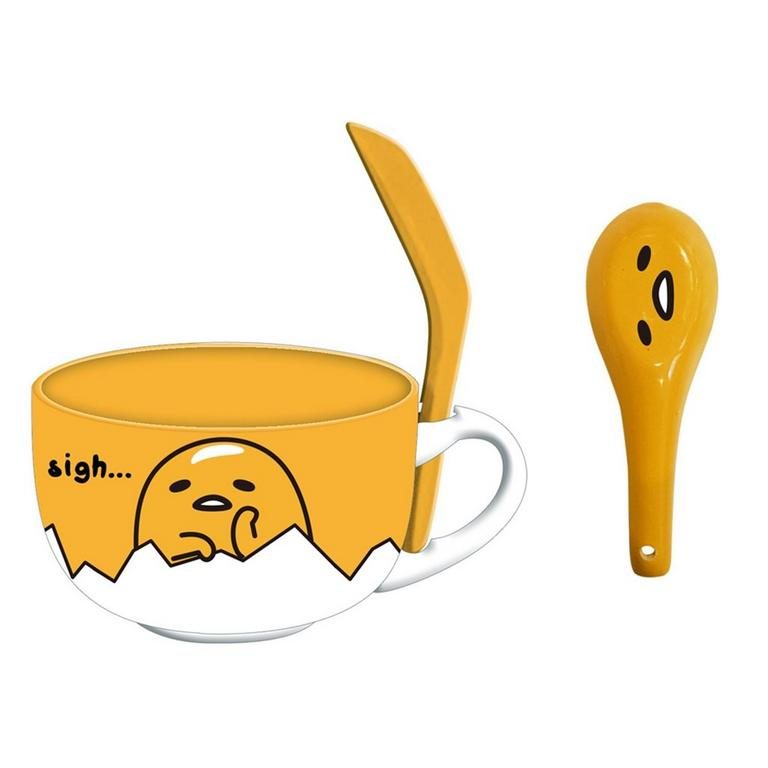 Gudetama Mug and Spoon Set