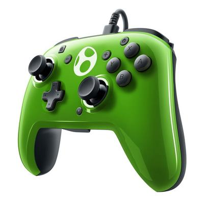 Nintendo Switch Super Mario Yoshi Face-Off Wired Pro Controller