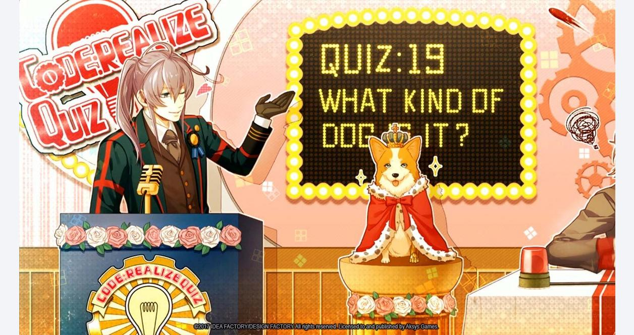 Code: Realize - Bouquet of Rainbows