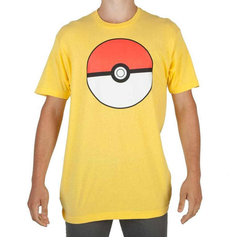 Pokemon Poke Ball Yellow T-Shirt