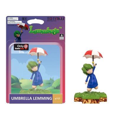 TOTAKU Collection: Lemmings Umbrella Lemming Figure - Only at GameStop