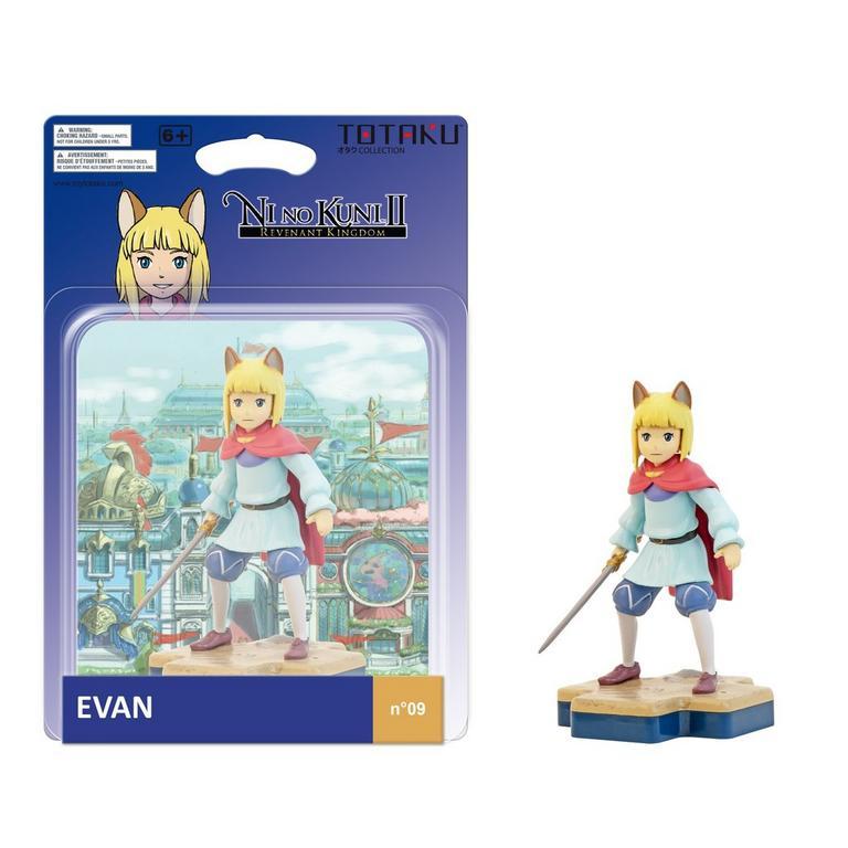 TOTAKU Collection: NI No Kuni II Evan Figure - Only at GameStop