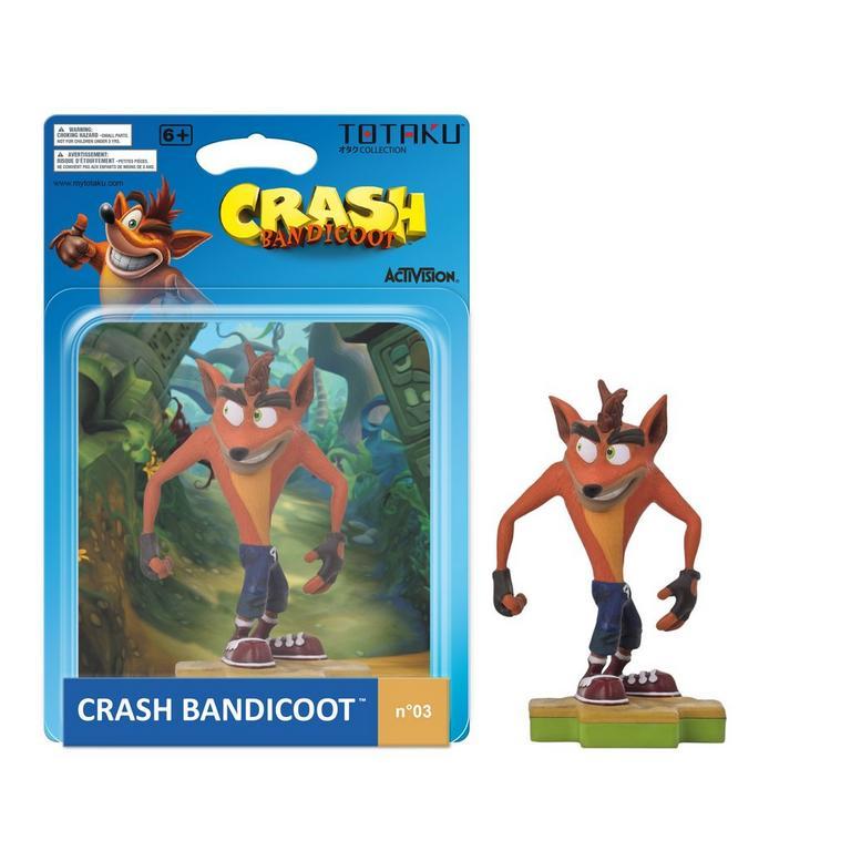 Crash Bandicoot TOTAKU Collection Figure Only at GameStop