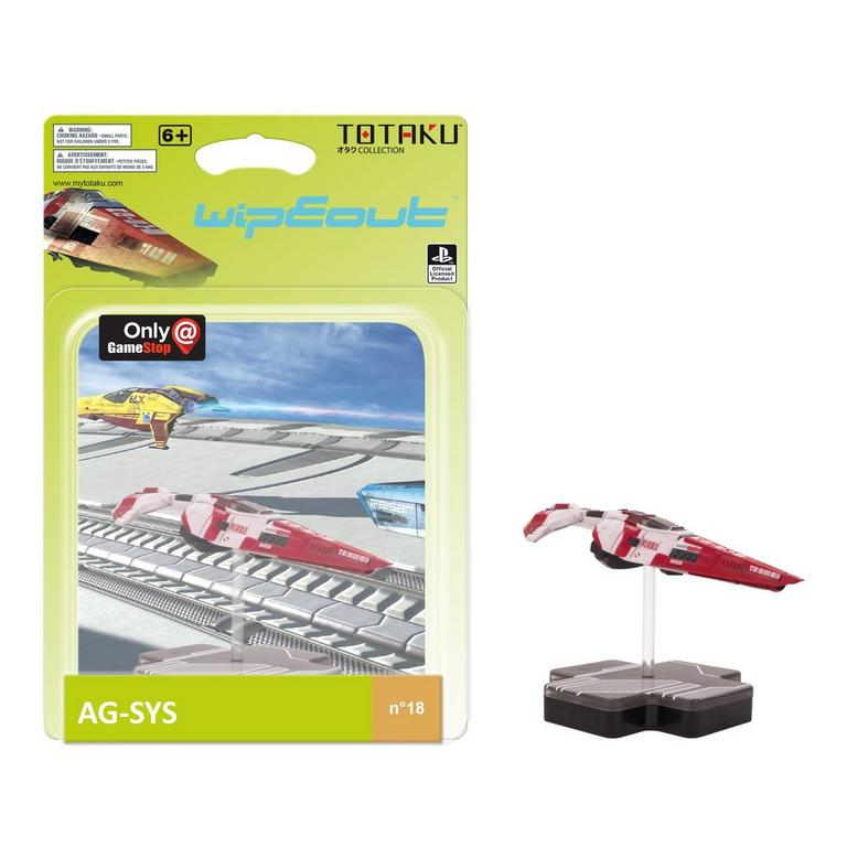TOTAKU Collection: Wipeout AG-SYS Figure - Only at GameStop