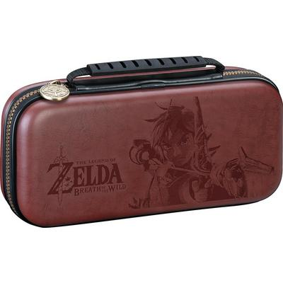 Nintendo Switch The Legend of Zelda Link Brown Game Traveler Deluxe Travel Case