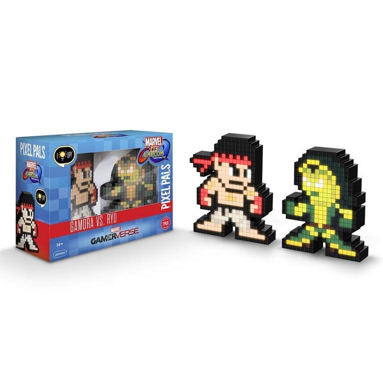 Marvel vs Capcom Infinite Gamora vs Ryu Pixel Pals