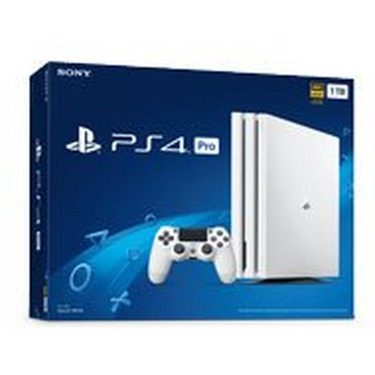 PlayStation 4 Pro 1TB Glacier White System - Only at GameStop
