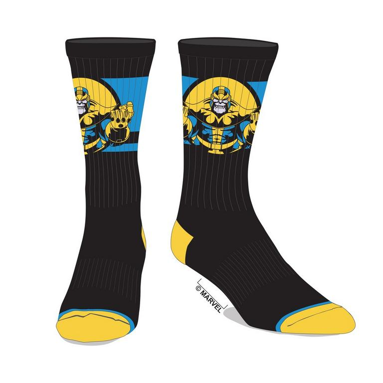 Thanos Mens Crew Socks