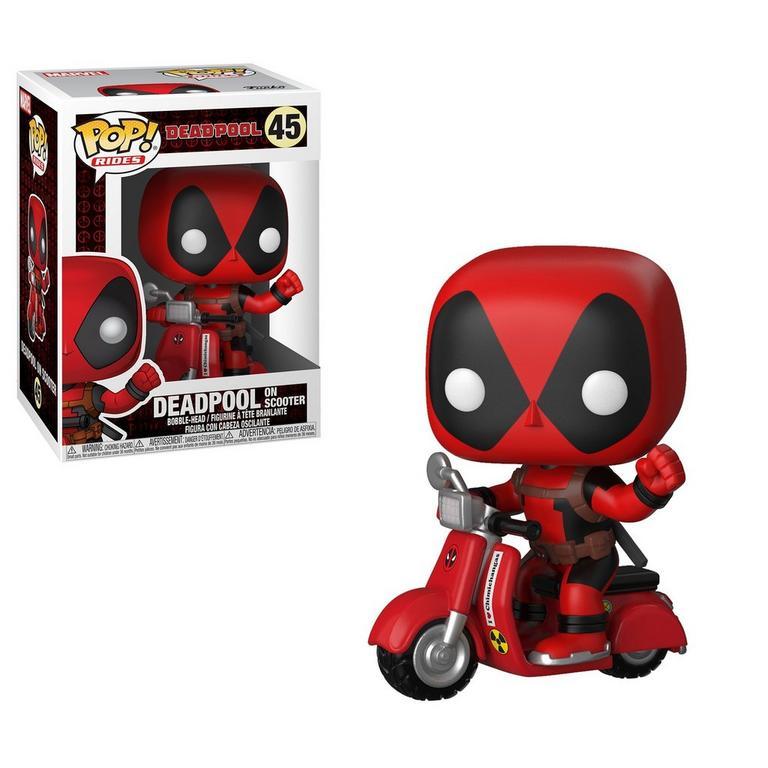 POP! Rides: Deadpool - Deadpool on Scooter