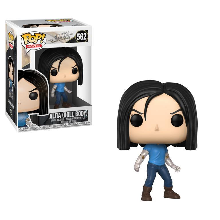 POP! Movies: Alita: Battle Angel Alita Doll Body