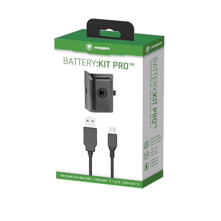 Xbox One Snakebyte Play & Charge Battery:Kit Pro