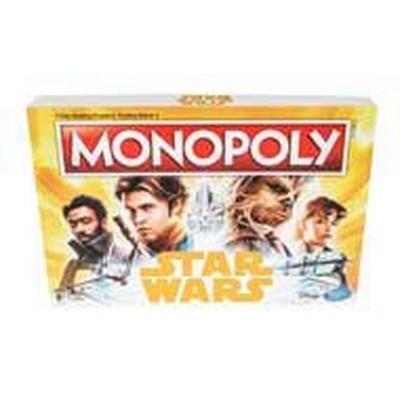 Star Wars Han Solo Monopoly Game