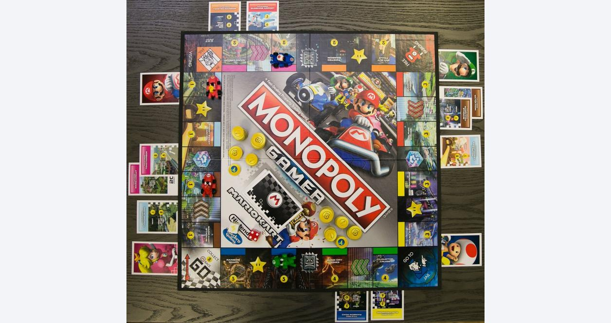 Monopoly Gamer: Mario Kart Board Game