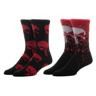 The Punisher Socks 2 Pack