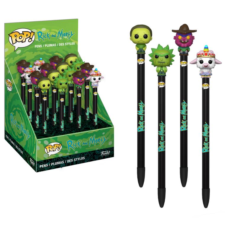 POP! Pen Topper - Rick and Morty | GameStop