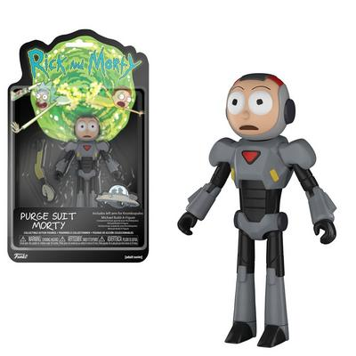 Rick and Morty Purge Suit Morty Action Figure