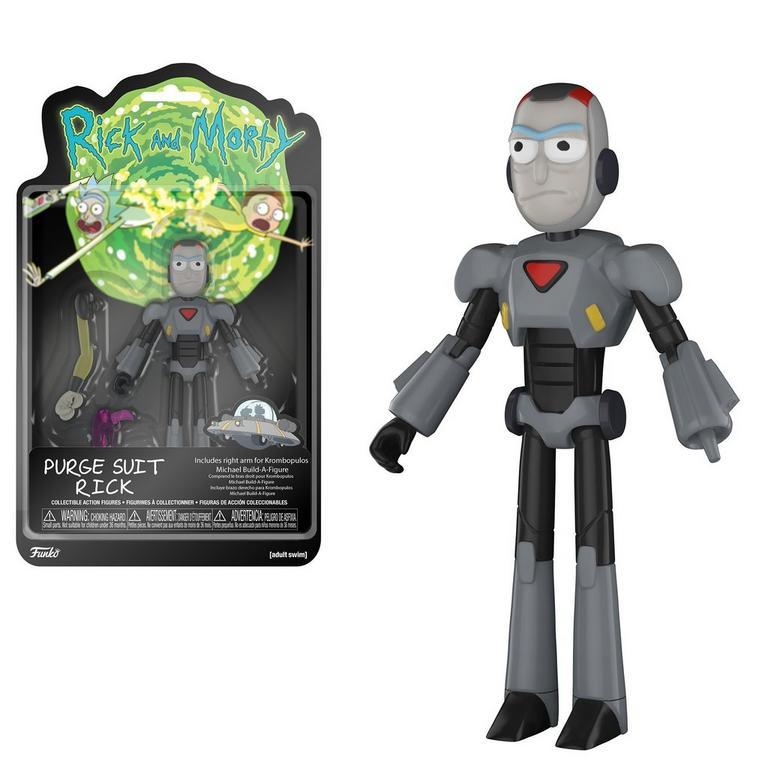 Rick & Morty: Purge Suit Rick, Action Figure