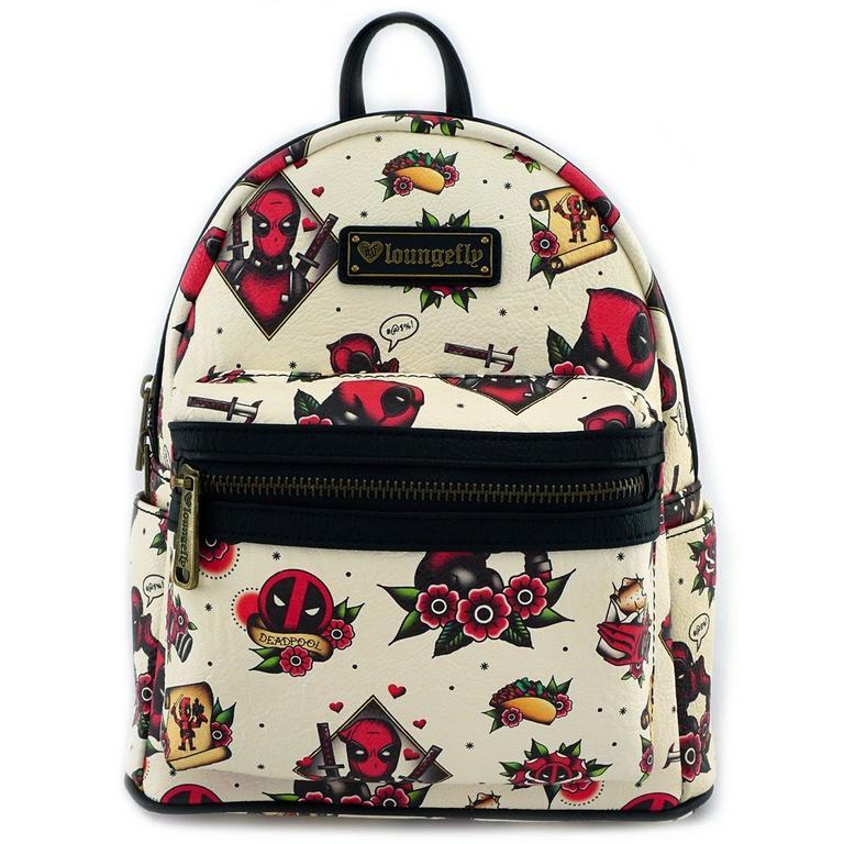 Deadpool Tattoo Mini Backpack
