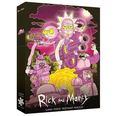 Rick and Morty 1000 Piece Puzzle - Big Trouble in Little Sanchez