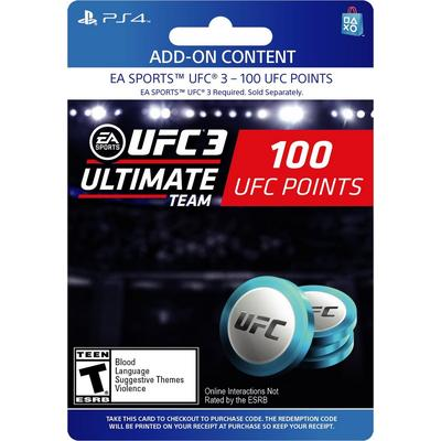 EA Sports UFC 3 - 100 Ultimate Team Points