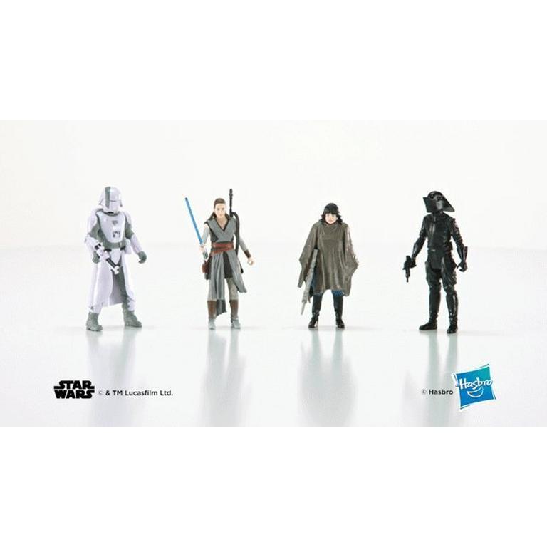 Star Wars ROSE Crait Defense Figure Battle of Crait The Last Jedi Force Link