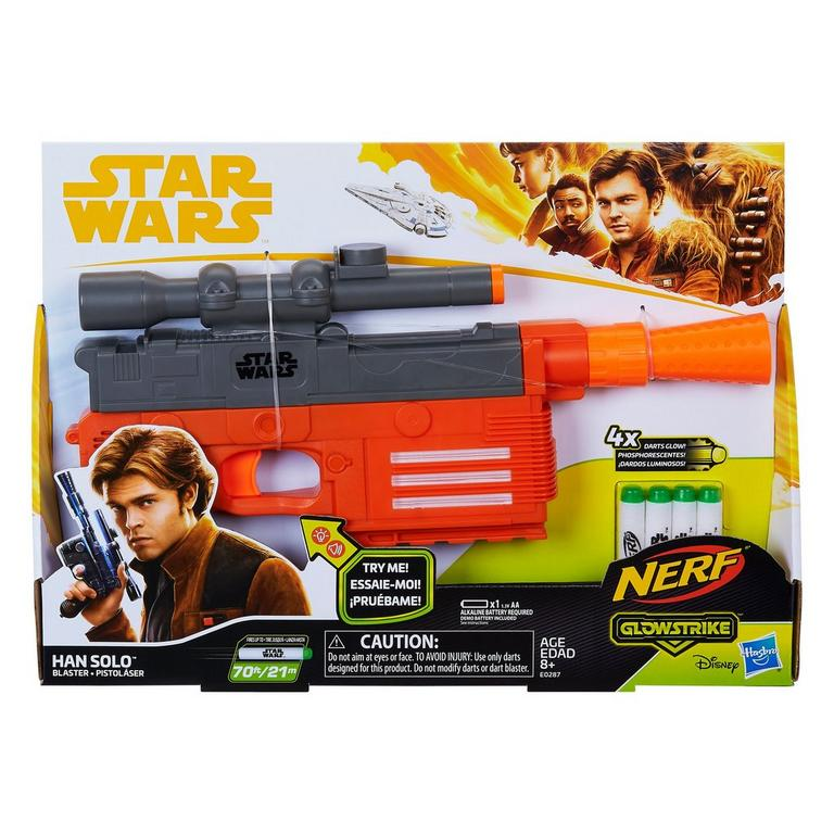 Nerf Glowstrike Star Wars Han Solo Blaster