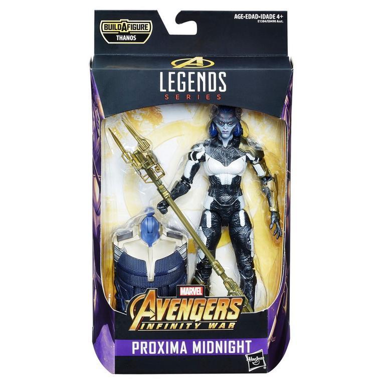 Marvel Legends Series Avengers Proxima Midnight Action Figure