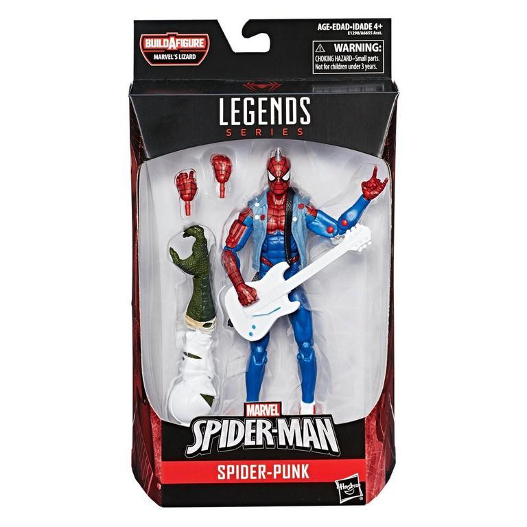 Marvel Spider-Man Legends Series 6-inch Spider-Punk