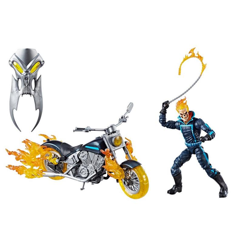 Marvel Legends Series 6 Inch Ghost Rider with Flame Cycle
