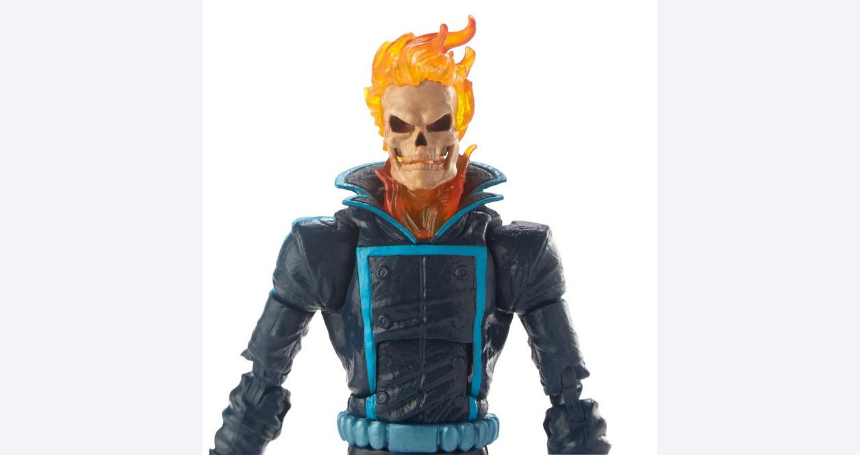 Marvel Legends Series Ghost Rider with Flame Cycle Action Figure
