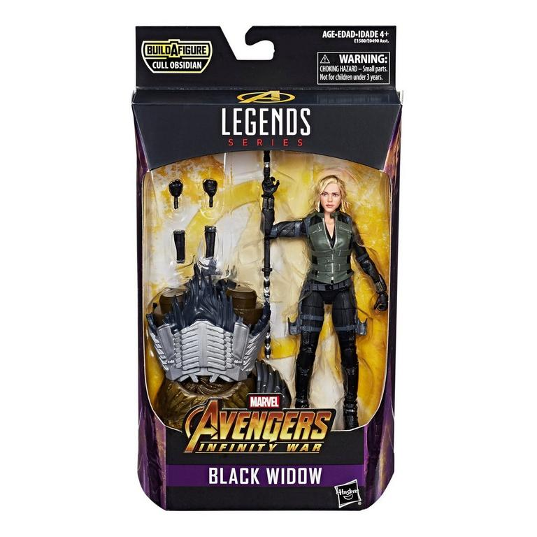 Marvel Legends Series Avengers: Infinity War Black Widow Action Figure