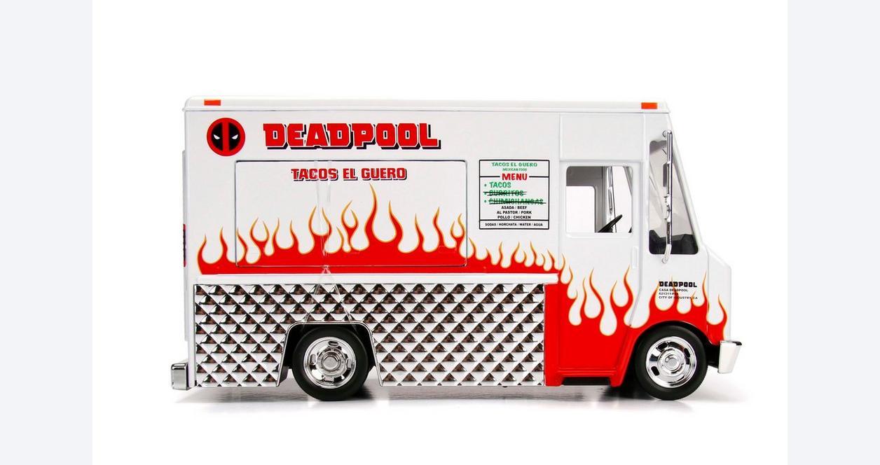 Deadpool Diecast Taco Truck First at GameStop
