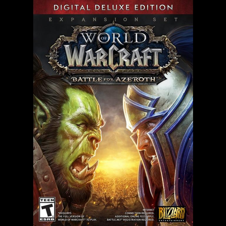 World of Warcraft: Battle for Azeroth Deluxe Edition
