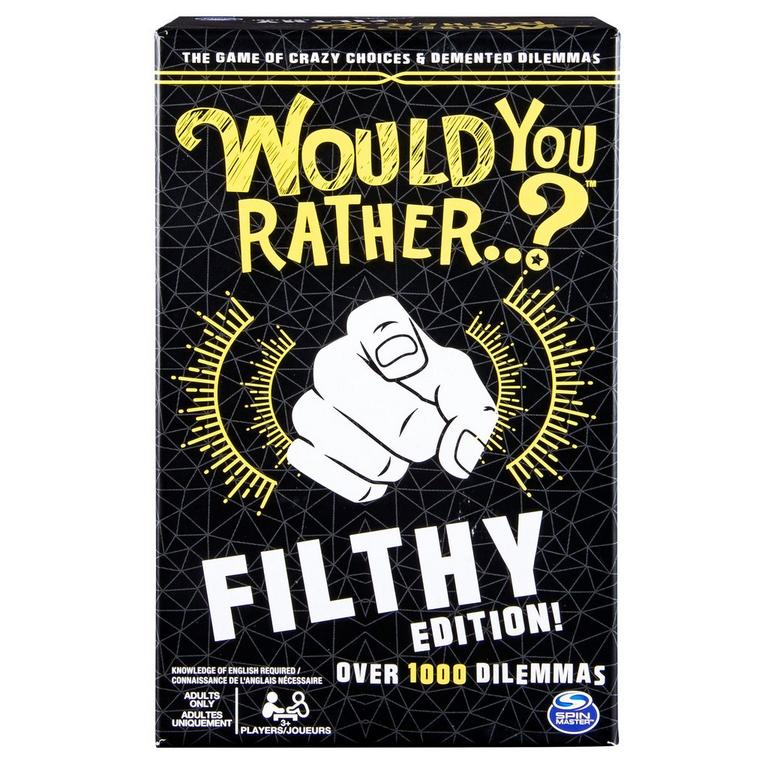 Would You Rather...? Filthy Edition