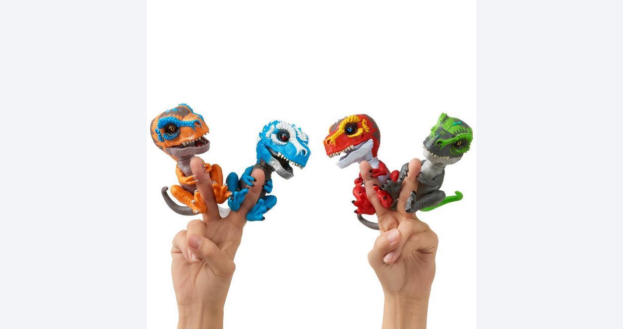 Fingerlings Untamed Ripsaw Baby T-Rex Interactive Figure