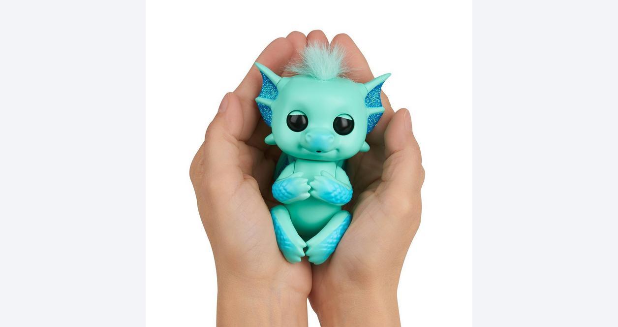Fingerlings Noa Teal Baby Dragon Interactive Figure