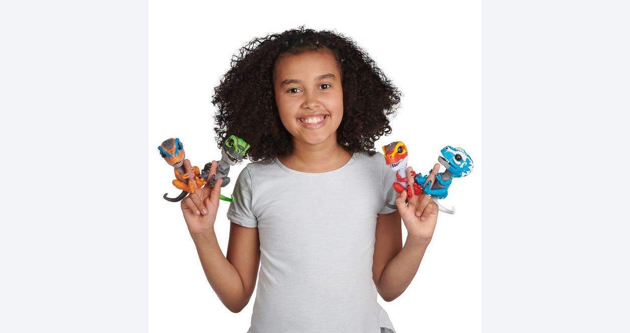 Fingerlings Untamed Tracker Interactive T-Rex