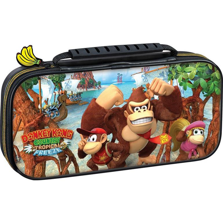 Nintendo Switch Donkey Kong Country Tropical Freeze Traveler Case Only at GameStop
