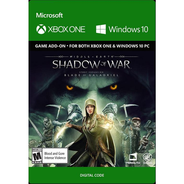 Middle-earth: Shadow of War Blade of Galadriel Story Expansion
