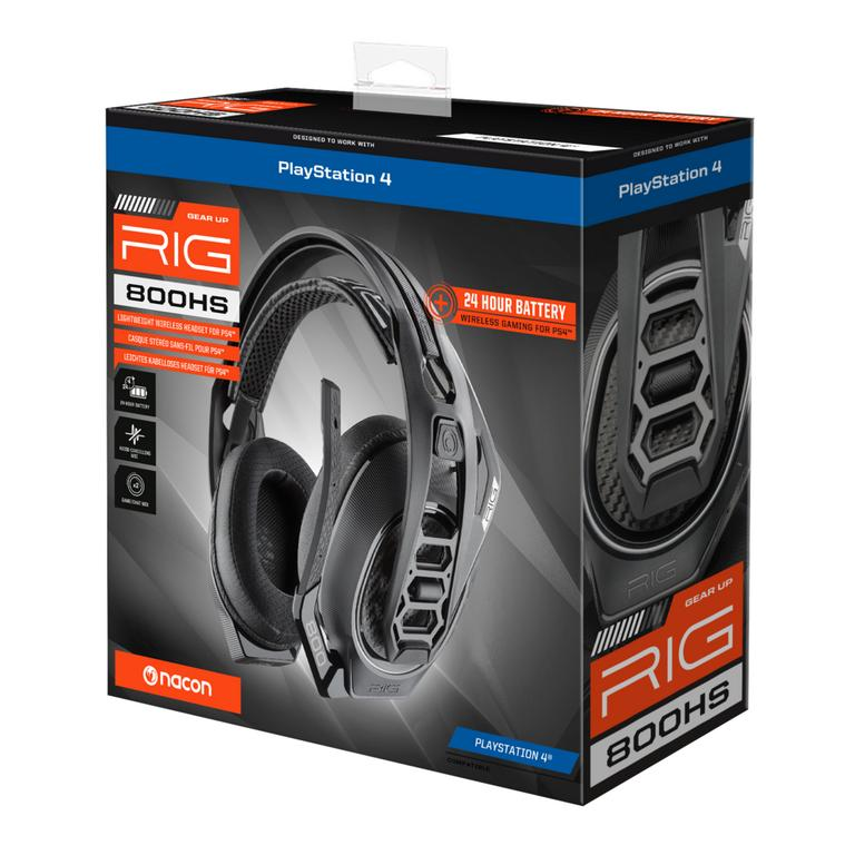 RIG 800HS Wireless Gaming Headset for PlayStation 4