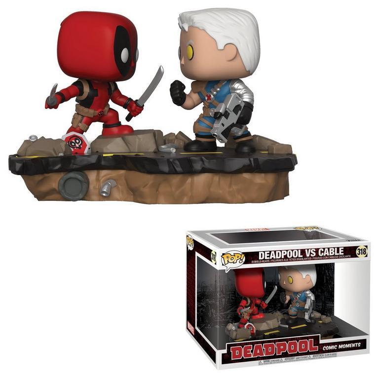 POP! Marvel: Comic Moments - Deadpool vs. Cable