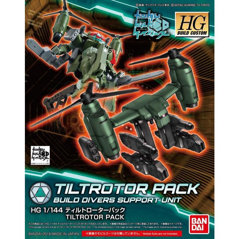 High Grade BC Tiltrotor Pack Model Kit