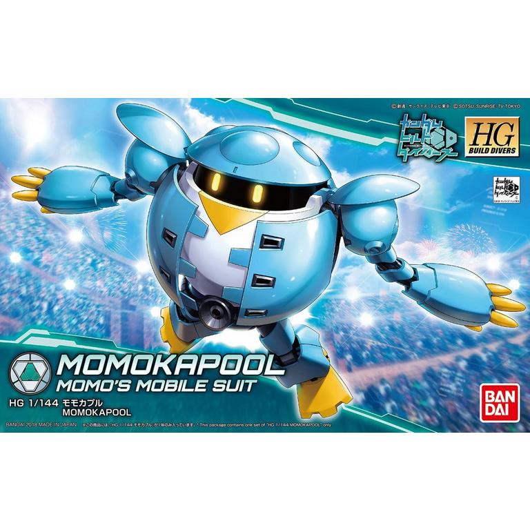 High Grade BD 1/144 MomoKapool Model Kit