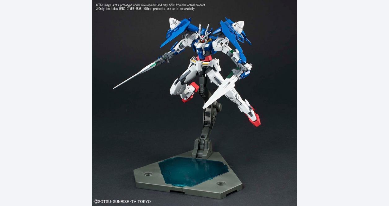 Gundam Build Divers Diver Gear High Grade Build Divers Gunpla Display Base