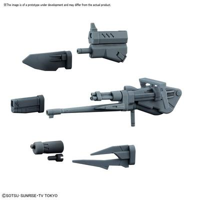 High Grade BC Changeling Rifle Model Kit